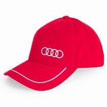 Audi Baseballcap Kappe Mütze rot