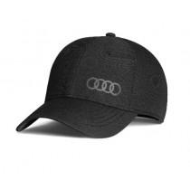 Audi Basebacllcap Cap Kappe Mütze Premium 'Frequenz' schwarz