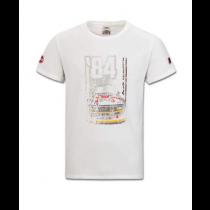 Audi Heritage T-Shirt Herren weiß Gr. S, M, L, XL, XXL