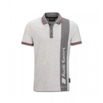Audi Sport Poloshirt Herren grau