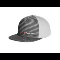 Audi Sport Unisex Snapback Cap Baseballcap Kappe Mütze 55-59 cm grau
