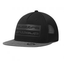 Audi quattro Unisex Snapback Cap Baseballcap Kappe Mütze schwarz grau 3131900600
