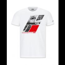 Audi Sport DTM Herren T-Shirt weiß Gr. M L XL