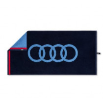 Audi Handtuch dunkelblau 50x100cm