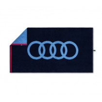 Audi Badehandtuch Strandlaken Strandtuch Handtuch dunkelblau 80x150cm
