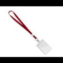 Audi Sport Schlüsselband mit Karabiner Tickethülle rot 3181900400