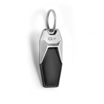 Audi Schlüsselanhänger Leder Motiv Q7 schwarz