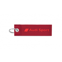 Audi Sport Schlüsselanhänger Schriftzug 3D-Print rot 3182000300