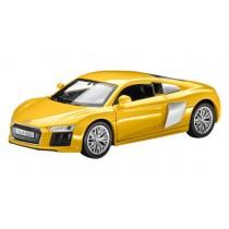 Audi R8 Coupé V10 1:38 Pullback Rückziehauto Spielzeugauto Vegasgelb