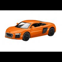 Audi R8 Pullback Kinder Modellauto Miniatur 1:38 glutorange orange - 3201910010