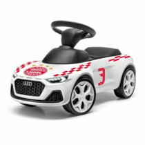 Audi Junior quattro Kinder Rutscheauto Rutscher FC Bayern München weiß mit LED