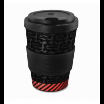 Audi e-tron Trinkbecher Kaffeebecher Becher Porzellan schwarz 3292000800