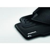 Original VW Passat Textilfußmatten Stoffmatten Optimat schwarz 4-tlg.