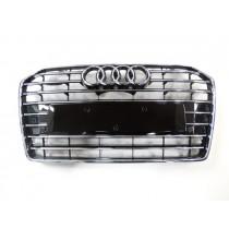 Original Audi A6 4G Kühlergrill schwarz glänzend chrom