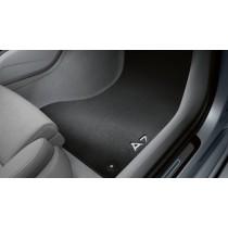 Original Audi A7 Stoffmatten Textilfußmatten Premium vorne + hinten