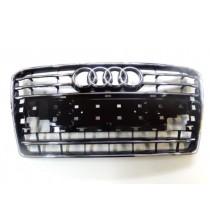 Original Audi A7 Sportback Kühlergrill Frontgrill schwarz glänzend