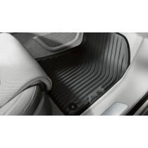 Original Audi Gummimatten vorn Audi A8 4H D4 schwarz