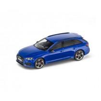 Audi RS4 Avant 1:43 Modellauto Minimax Nogaroblau Blau