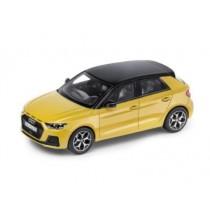 Audi A1 Sportback 1:43 Modellauto Miniatur Phytongelb