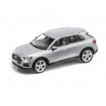 Audi Q3 Modellauto Miniatur 1:43 Minimax 2018 Florettsilber