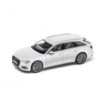 Audi A6 C8 Avant 1:43 Modellauto Miniatur Gletscherweiß Weiß