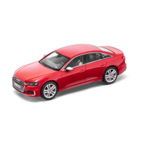 Audi S6 Limousine 1:43 Modellauto Miniatur Limitiert Tangorot rot 5011816131