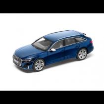 Audi S6 Avant 1:43 Modellauto Miniatur Limitiert Navarrablau blau 5011816231