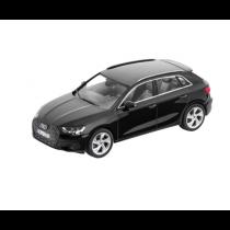 Audi A3 Sportback 1:43 Modellauto Miniatur Mythosschwarz Schwarz 5011903032