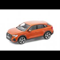 Audi Q3 Sportback Modellauto Miniatur 1:43 Pulsorange Orange 5011903631