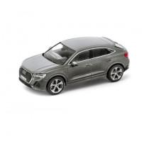 Audi Q3 Sportback Modellauto Miniatur 1:43 Chronosgrau Grau