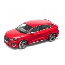 Audi RS Q3 Sportback Modellauto 1:18 Tangorot rot