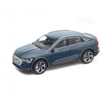 Audi e-tron Sportback 1:43 Modellauto Miniatur Plasmablau