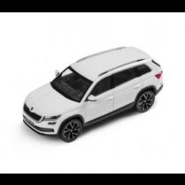 Skoda Kodiaq Modellauto Miniatur 1:43 Moon-Weiß Weiß Metallic 565099300 S9R