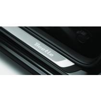 Original VW Beetle Einstiegsleisten Dekor Edelstahl
