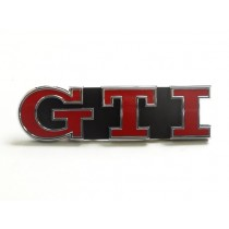 Original VW Golf 7 VII GTI Schriftzug Emblem für Kühlergrill rot