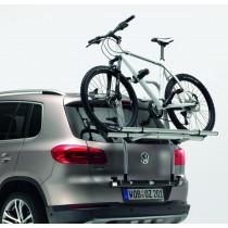 VW Tiguan Fahrradträger für die Heckklappe Heckträger für 2 Fahrräder