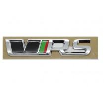 Original Skoda RS Schriftzug Emblem Logo selbstklebend