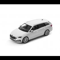Skoda Octavia (A8) Kombi Combi Modellauto Miniatur 1:43 Moon-Weiß 5E7099300 S9R