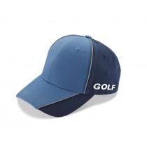 VW Golf Baseballcap Kappe blau-schwarz