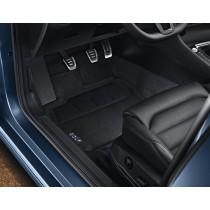 Original VW Golf VII 7 Textilmattten Stoffmatten Optimat schwarz 4-tlg.