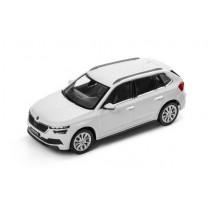 Skoda Kamiq Modellauto Miniatur 1:43 Moon-Weiß Metallic 658099300 S9R