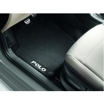 Original VW Polo V 6R Textilfußmatten Stoffmatten Premium vorn + hinten