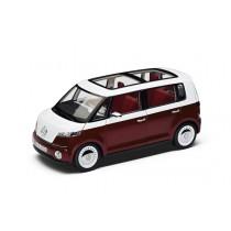 """Original Volkswagen Modellauto Studie """"der neue Bulli"""" 1:18 rot"""