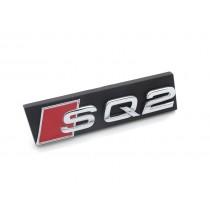 Original Audi SQ2 Schriftzug Emblem Logo für Kühlergrill chrom
