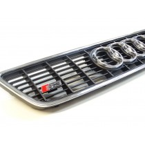 Original Audi S3 A3 8L Kühlergrill Sportgrill schwarz chrom