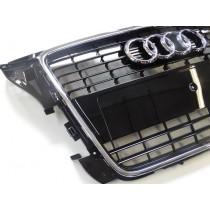 Original Audi A3 8P Kühlergrill Frontgrill schwarz glänzend