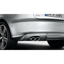 Original Audi A3 8V Sport Endrohrblenden Chrom