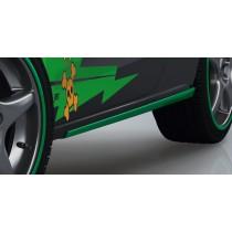 """Audi A1 8X ABT Sportsline Seitenschweller Optik """"Grasgrün"""""""