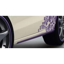 "Audi A1 8X ABT Sportsline Seitenschweller Optik ""Lavendel"""