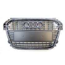 Original Audi A1 8X Kühlergrill Frontgrill steingrau